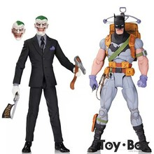 DC Comics Designer Series Suicide Squad Zero Year Survival Batma The Dark Knight Joker Cartoon Toy PVC Action Figure Model Gift(China)