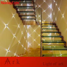ark light New Modern 4w Circle LED  Indoor wall lamp Warm White Wall Sconces Light Hall Porch Bar Decoratiive Lamp 85V-265V