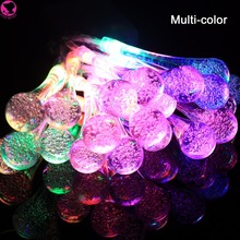 Icicle Snow Fall 2.2m 20 LED String lights Meteor Falling Star Rain Drop Xmas String Fairy Light Bulb Garden Holiday Decoration