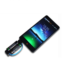 emergency charger Portable Mini Phone Charger Micro USB Magnetic Travel for HUAWEI Honor 6/7 plus 4C 4X X2 Motorola moto G3 / X3(China)