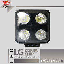 LYC Off Road Light Extra Led Lights Farm Equipment 4x4 Accessories Lights Light Automotive Led 40W For Project Car 3000k/6000k