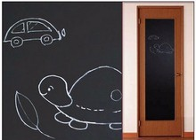 *1pc Chalkboard Black Board Sticker School Office Meeting Chalk Board Sticker Removable Vinyl Wall Stickers For Child Play Toy