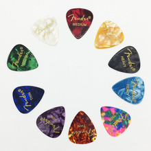 10 pieces Acoustic Electric Guitar Picks Accessories Thickness 0.46mm 0.71mm 0.96mm Thin Medium Heavy Instrument Musical(China)