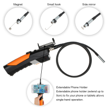8.5mm HD 720P Wifi USB Industrial Endoscope Borescope Inspection Camera Waterproof 2.0 Megapixels 6 LEDs for iOS Android Windows