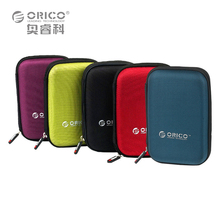 ORICO PHD-25 2.5 Inch Protection Bag for External Portable HDD Box Case-Black/Red/Green/Purple/Blue(China)
