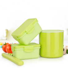 Outdoor Food Container Meal Dinnerware Set Kids Thermal Multifunction Travel Food Container Bowl Vacuum Soup Packaging Bowl