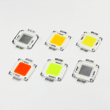 10W - 100W LED Chip High Power Integrated COB Lamp DIY outdoor garden Flood light White/Warm White/Red/Green/Blue/Yellow/RGB