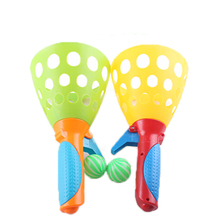1 Pair Children Throwing and Catching The Ball Set Parent-child Interactive Catch ball Toy Indoor Outdoor Sports Games Toys 2017