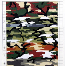10 yards Cross grain camouflage PVC artificial leather factory wholesale synthetic leather fabric material(China)