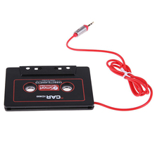 2017 Brand New Car Audio Tape Cassette Adapter 3.5mm Jack AUX For Mp3 CD Radio Player Converter