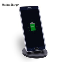 5w Fast charging Qi Wireless Charger Stand Dock for Samsung Galaxy S7 S7 Edge Note5 S6 Edge Plus S6 S6 Edge enabled Devices