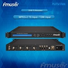 FUTV3506 DVB-T2 modulator (2*ASI in,1* IP out,QPSK/16QAM/64QAM/256QAM )with network system(China)