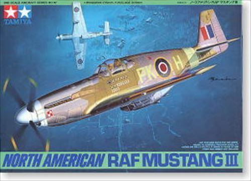 Tamiya 61047 North American RAF Mustang III 1//48 scale kit