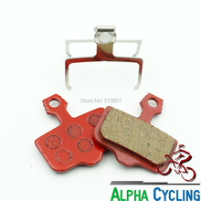 MTB Disc brake Pad for AVID Elixir R, CR, CR Mag, 1/3/5/7/9, X.0, XX Disc Brake, Red Resin, 4 Pairs, Tested by TUV from Germany