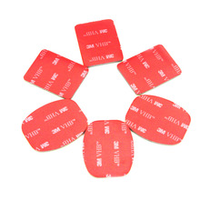 10pcs 3M VHB Adhesive Stickers Mount For GoPro Hero 4 3 5 Session H9r SJCAM SJ4000 SJ5000 Go Pro Xiaomi Yi 4K Accessories Kits(China)