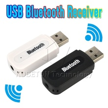 New USB Bluetooth Music Audio Receiver Adapter 3.5mm Stereo Audio to Speaker Sound Box for Apple iPhone