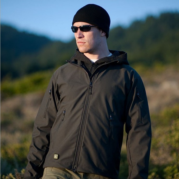 Army camouflage Lurker Shark skin Soft Shell TAD V 4.0 Outdoor Waterproof Jacket chaqueta hombre<br>