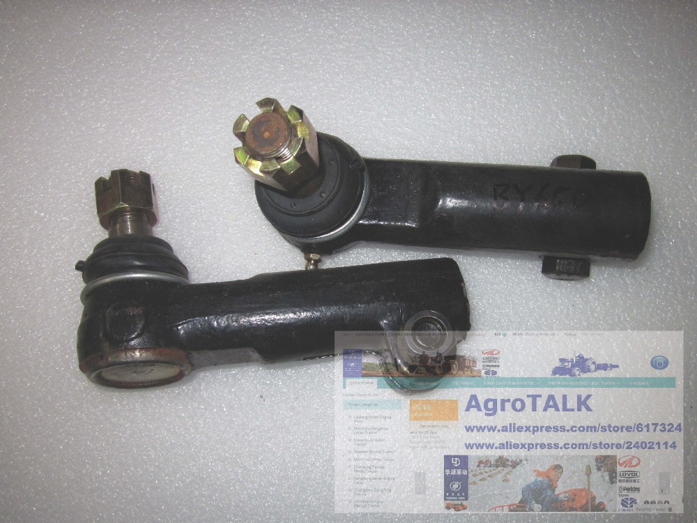 Ningbo Benye 650 tractor parts,set of steering joints (left and right)<br>