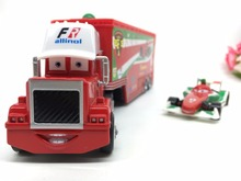 Pixar Cars 2 Mack Uncle Truck Francesco Metal Diecast Toy Car 1:55 Loose Brand New Brio Gift Toy for Children