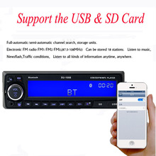 Auto radio Car Radio JSD-520 12V Bluetooth V2.0 SD USB MP3 MMC WMA JSD 520 Car Audio Stereo In-dash 1 Din FM Aux Input Receiver