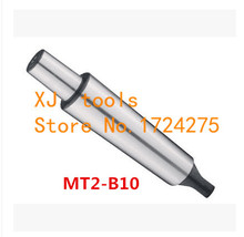 1PCS Reducing Drill Sleeve MT2-B10 No 2 Morse Taper Shank Drill Chuck Arbor Drilling Lathe Machine Capacity 0.6-6mm(China)