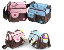 free shipping carter cute diaper bags mummy bags--two colors-bule and pink(China)
