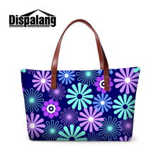 Dispalang Women Bags Flower Pattern Handbags Ladies Messenger Bag Big Capacity Shoulder Shopping Bag Large Crossbody Bag Tote