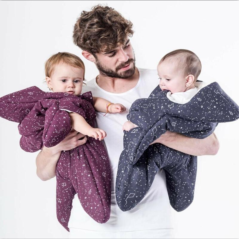 Newborn Baby Boy Girl Stroller Sleeping Bags as Winter Envelope Wraps Sleep Sacks Infant Baby Bedding Blanket Swaddling Blanket<br>