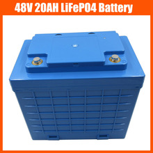 48V 1400W LiFePO4 battery 48V 20AH scooter electric bike battery pack 48V Lifepo4 / LFP Battery With Plastic housing