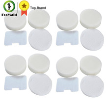 4 Packs Foam & Felt Filter Kit for Shark NV22L UV410 UV26 NV36 Vacuum Cleaner Filter Replace Part# XF22