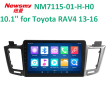 4G HD DVR bluetooth wifi 10.1 inch for Toyota 13-15 RAV4 car radio player Newsmy 24 hours live broadcast NM7115-H-H0(China)