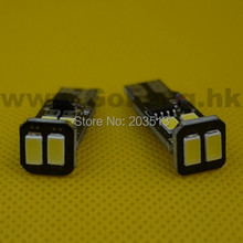 100pcs/lot new model nice color w5w 194/168 led t10 strobe 5630 6smd obc no polarity car led bulbs lamp light Free shipping