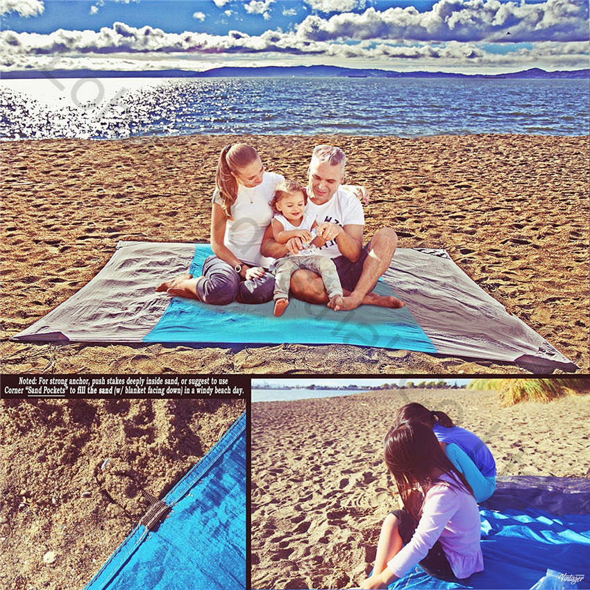 Sand Escape Compact Outdoor Beach Blanket mat new stlye22