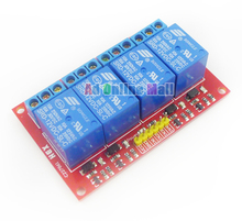 4 Channel 12V Relay Module For PIC ARM AVR DSP Single Chip Microcomputer for arduino Household Appliance Control