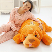 2017 Big Size Stuffed Plush Dog Toy SHAR.PEI Dog Doll Large Pillow Papa Dog Cushion Household Items household 100cm/120cm