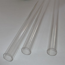 Acrylic Tubes Home Improvement Plastic Building Profiles 100pcs/Lot OD10X2X500MM PMMA Pipes Can Cut Any Size(China)