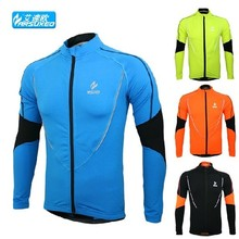 winter warm up fasion Fleeces skins running Fitness Exercise cycling bike bicycle sports running Clothing jacket shirt wear