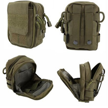 New Tactical Military Hunting Small Utility Pouch Pack Army Molle Cover Scheme Field Sundries Bags Outdoor Sports bag