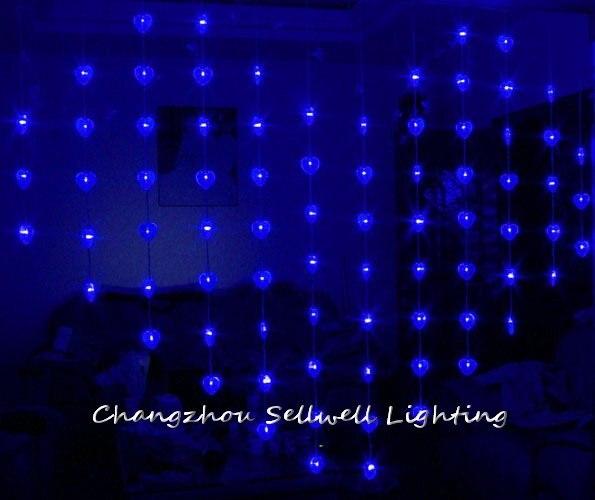 2018 Limited Christmas Decorations New!led Holiday Light Wedding Celebration Showcase Decoration 1.6*2m Bead Curtain Lamp H305 <br>