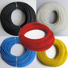 3mm Braided FiberGlass sleeving High Voltage 200 Deg.C 1200V Flame Resistant Wire Cable Protect Fiber Glass sleeving(China)