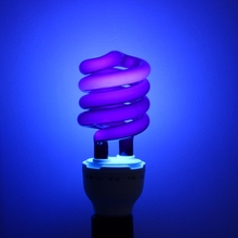 220V 36W/40W E27 Ultraviolet UV Spiral Energy Saving Black Light Lamp With Traps Insects Stage fluorescent Lighting Bulb On Sale