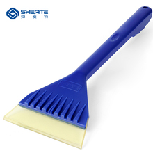 SHEATE Car Multifunctional Ice Scraper Snow shovel Soft PVC Paint care Wiper blade clean tool Removal cleaner
