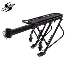 Adjustable length aluminum alloy bicycle racks mtb mountain bike luggage carrier cycling rear cargo rack cycle parts accessories(China)