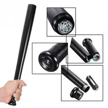 2017 New Stylish High Quality Aluminum Alloy 3 Mode Baseball Bat Flashlight Security Camping Light Torch