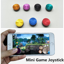 2Pc/lot N Mini Funny Arcade Game Stick Joystick Joypad for iPhone iPad for Android Touch Tablets Screen Mobile Phone Game Rocker