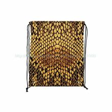 Fashion Honeycomb Print Custom Outdoor Beach Gym Swimming Clothing Shoes Towel Storage Bag Drawstring Backpack Pack Of 4