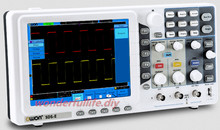 OWON SDS7072E Portable Digital Oscilloscope 8 Inches TFT Channel 2+1 (external) Bandwidth 70MHz Sample Rate 1GS/s