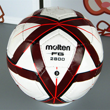 2016 New Molten Soccer Ball F3G2800 Red Size 3 Football Ball PU Leather Footaball Game Training Children Molten Futbol Ball
