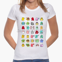 2017 Latest Fashion Women Emoji collections Design T shirt  Emoji Tops Fashion Novelty Lady Casual Short Sleeve Tees