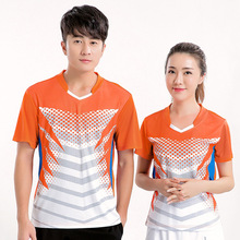 Free Custom Badminton shirt , Tennis Jerseys Male/Female , Tennis t shirt ,Table Tennis t shirt , sports Badminton t shirt 5069